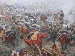 51 Panorama - counter attack of the Dutch Cavalry