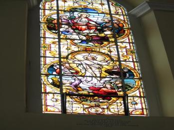 09 stained galss window in Christ Church Cathedral