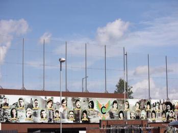 73 Peace Wall in Clonard Martyrs Memorial Garden