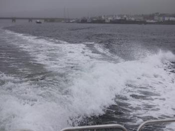 81 on the boat to Skellig Michael