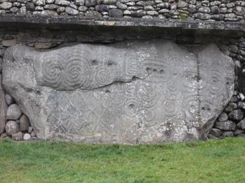 30 engraved stone