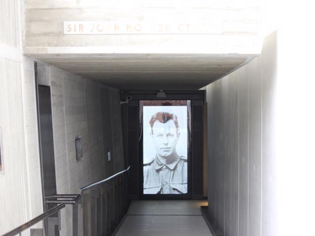 10 entry into Sir John Monash Centre