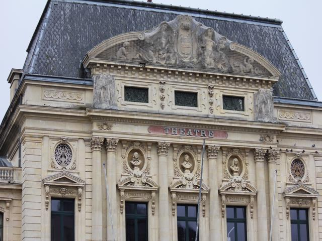 04 The Theatre building Cherbourg