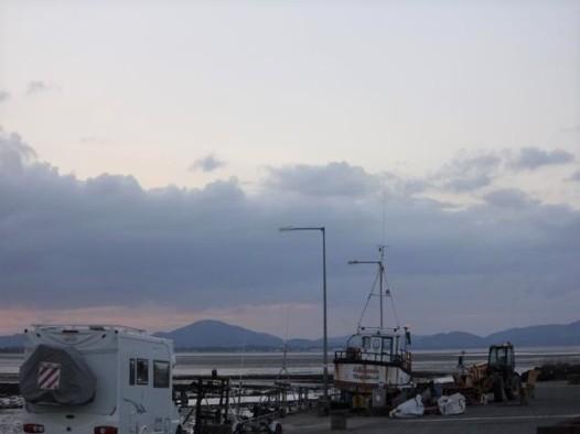 116 campsite at pier