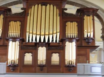 24 organ insidef Cathedral of the Most Holy Trinit