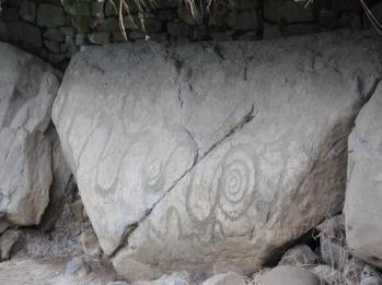 36 kerbstone megalithic art