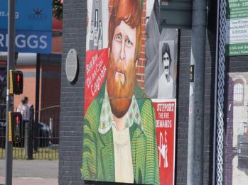 67 political mural