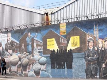 69 political mural