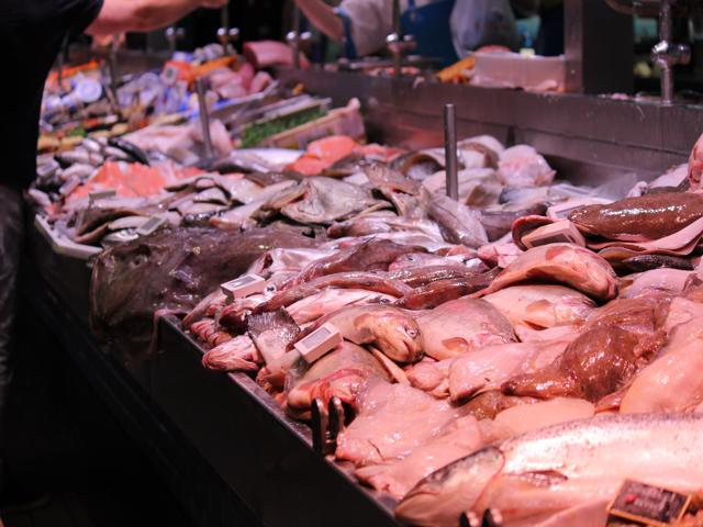 12 fish at English Market Cork