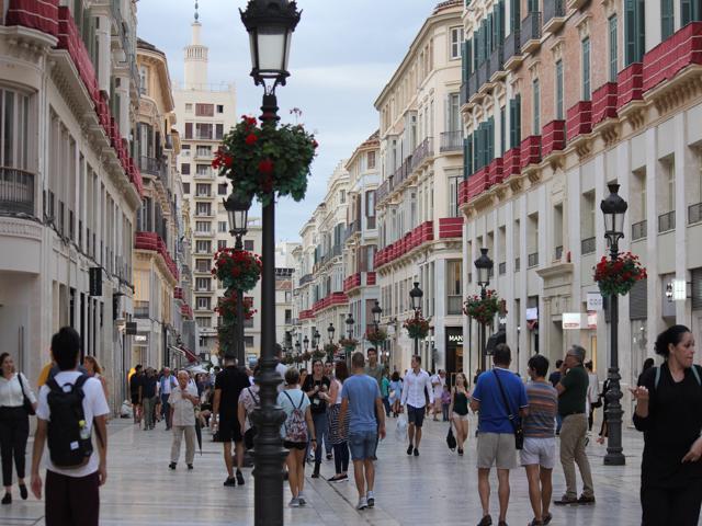 37 street in Malaga Centre