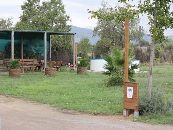 01 campsite at Bellvei Spain