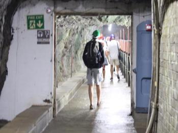 76 inside WW II Tunnels