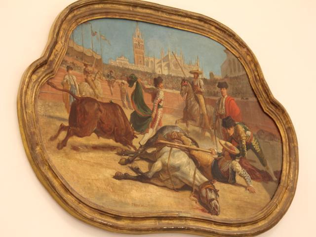 11 inside museum at Plaza de Toros de la Real Maestranza de Caballeria de Sevilla (bullring)