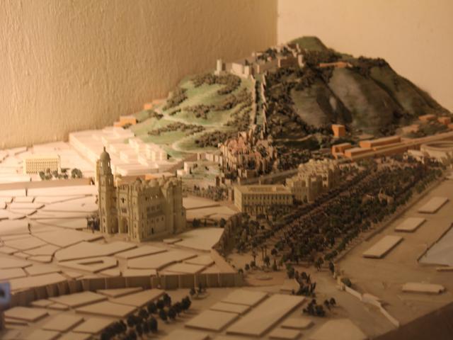 17 display of Castle of Gibralfaro
