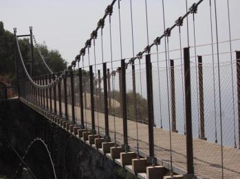 55 suspension bridge
