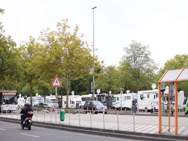 01 Dusseldorf camping area
