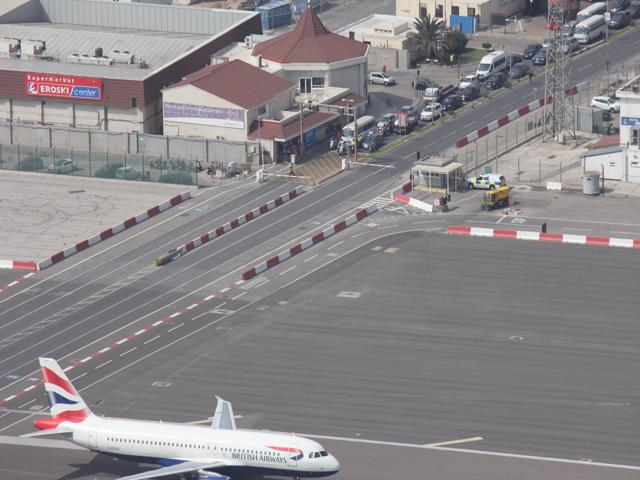 81 traffic stopped for plane
