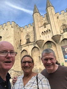 14 Gary and us in Avignon