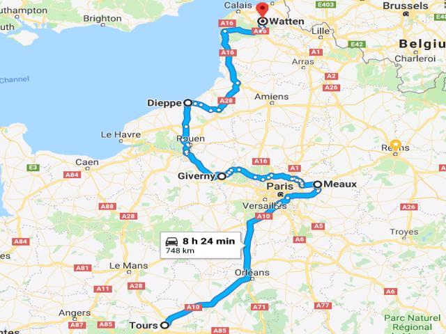 Tours to Watten