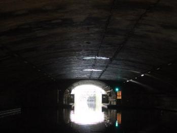 33 end of underground tunnel