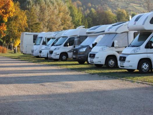 55 campsite at Giverny
