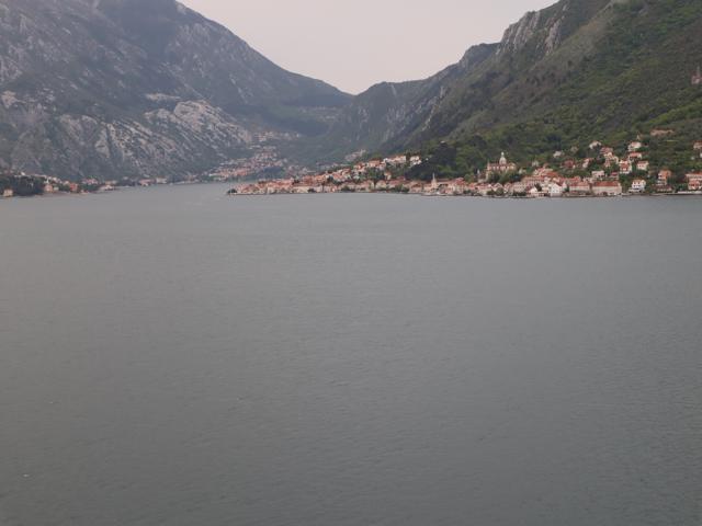 01 cruising through the Gulf of Kotor