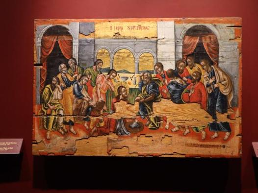 15 art work in Byzantine Museum