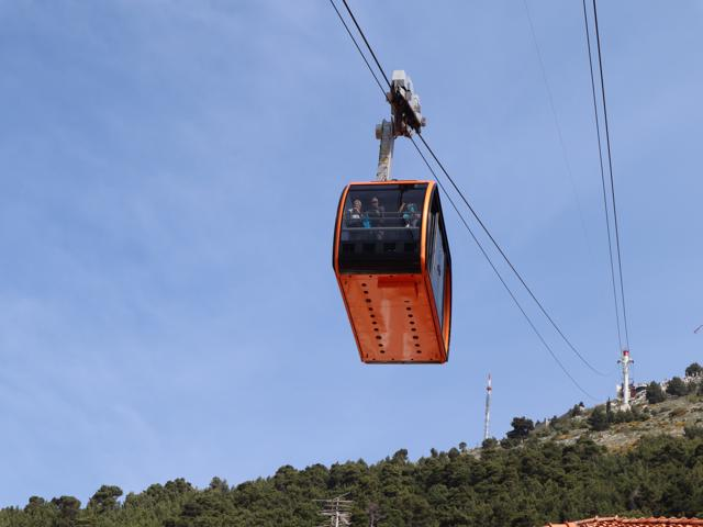 25 cable car to Mt Srdj