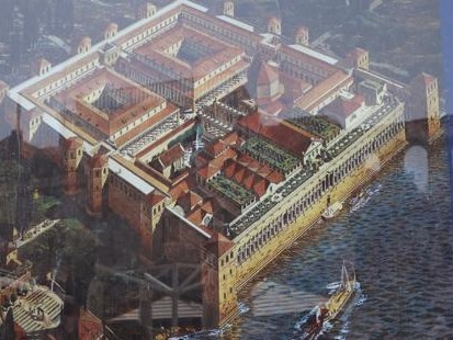 26 reconstruction of Diocletian's Palace
