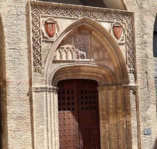 102 entrance of Aljaferia Palace