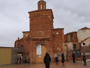 174 Old Village of Belchite - Historical Ruins