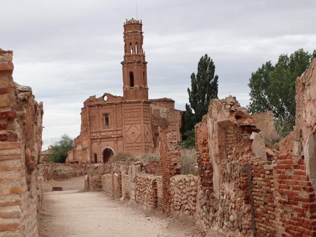181 one of the churches Old Village of Belchite