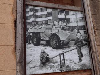 186 life during the war Old Village of Belchite