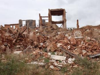 195 rubble Old Village of Belchite