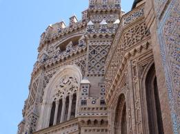 88 Inglesia de la Magdalena - Mudejar (brick decorated with tiles)